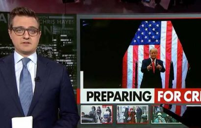 Chris Hayes Delivers Blistering Critique Of Donald Trump's Coronavirus Claims