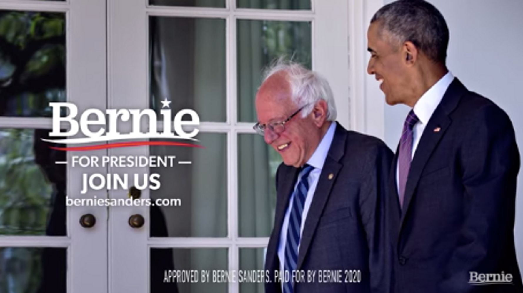Sanders Highlights Obama's Past Praise For Him In New Ad After Super Tuesday