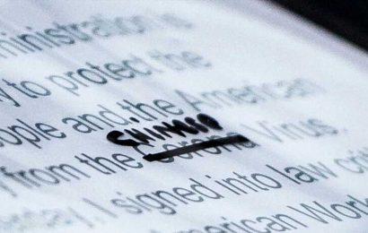 Photographer Captures Trump's Handwritten 'Chinese' Virus Revision On Speech Script