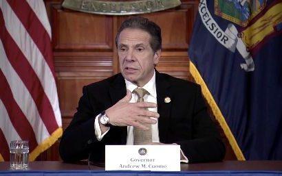 Gov. Andrew Cuomo Slams 'Arrogant' New Yorkers Still Gathering In Large Groups