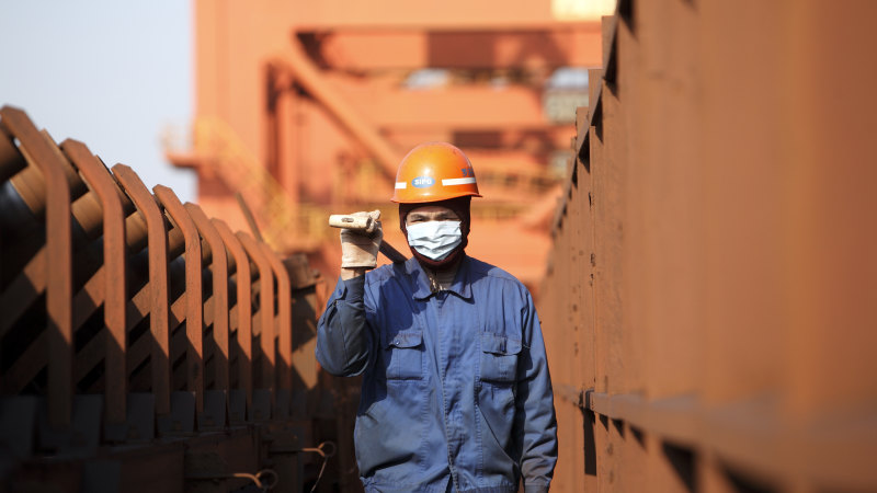 Iron ore miners starting to recover after shares infected early by coronavirus