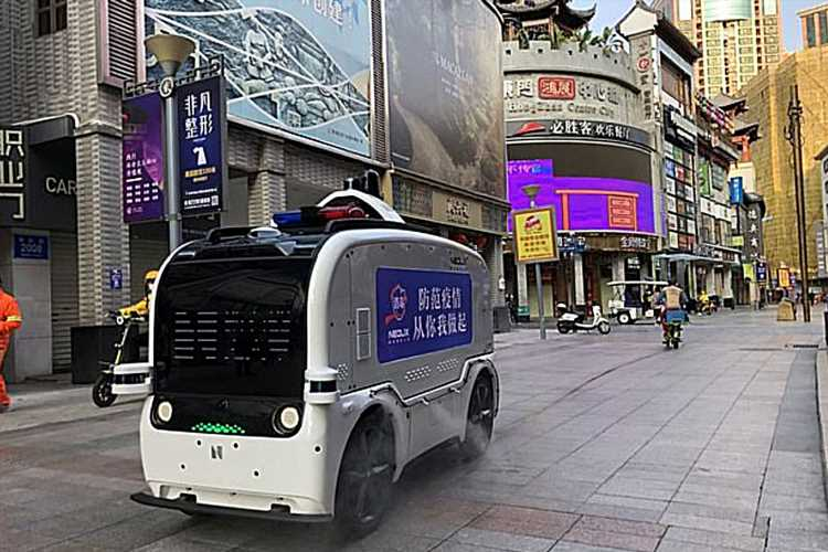 Driverless vans that delivers medical supplies and food see demand surge during coronavirus outbreak