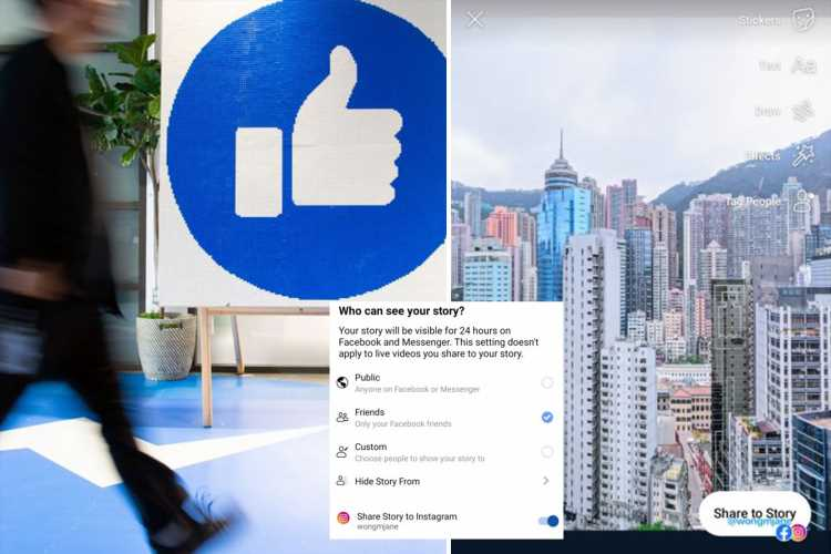 Facebook Stories can now be posted straight to Instagram – as apps prepare to 'merge' messages