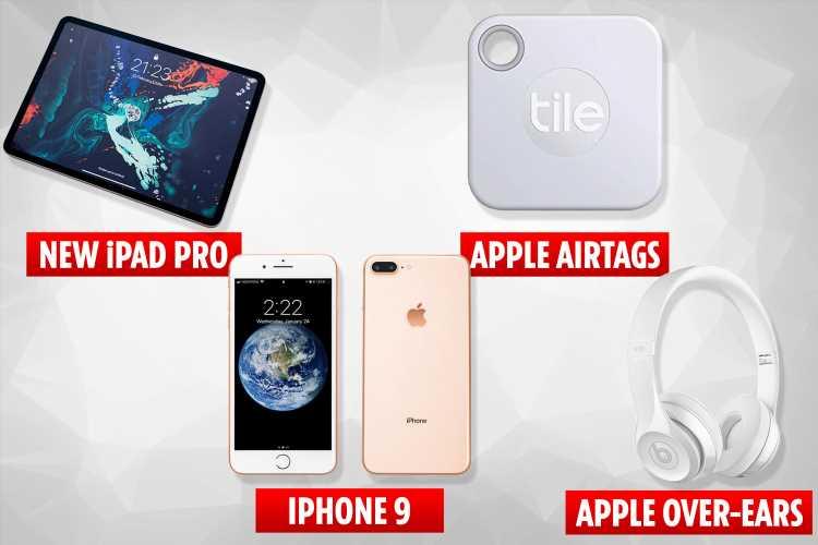 Huge Apple leak teases iPhone 9, new iPad, Apple TV, 'tracker tags' and more
