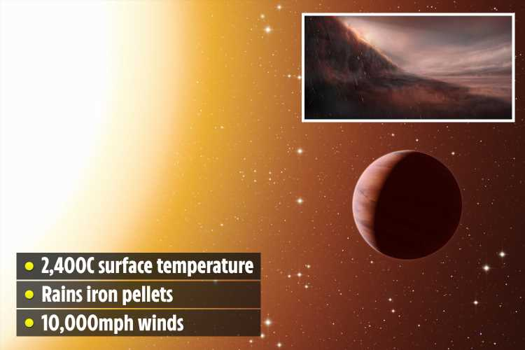 Toxic 2,400C 'hell planet' Wasp-76b that rains liquid iron found – and it would vaporise you instantly