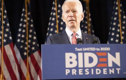 Biden's Journey Back to Frontrunner Saw Him Hit Bottom First
