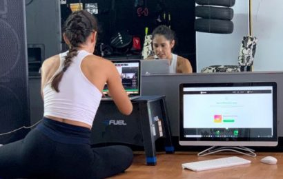 Gym Closed and Income Gone, a Barre Instructor Reinvents Herself