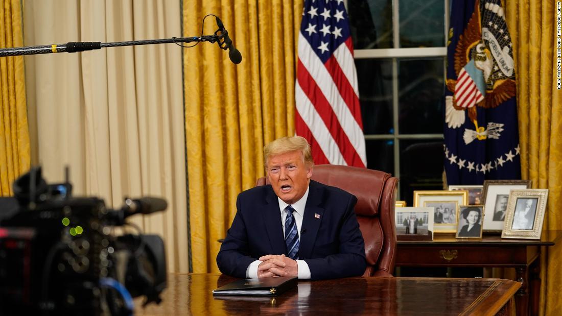 President Trump's full coronavirus address to the nation