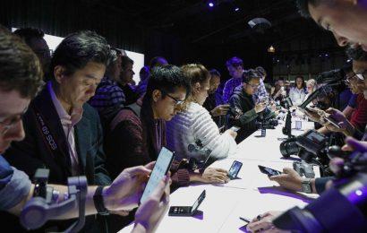See Samsung's new $1,380 flip phone