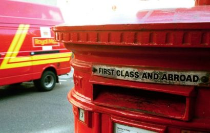 Royal Mail may reduce postal services as more staff take sick leave