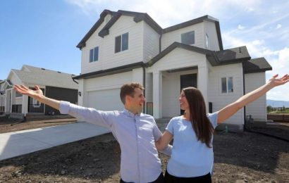 New home construction dips again in February