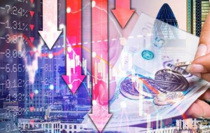 UK recession warning: Staggering 14 PERCENT contraction in economy forecast by June 2020