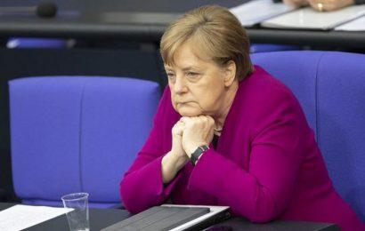 Merkel scrambles to save 'catastrophic' German economy as crisis gifts Boris Brexit power