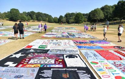 Extra AIDS Memorial Quilt Fabric Is Being Used For Coronavirus Masks