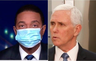 Don Lemon Dons Mask To Mock Mike Pence's 'Ridiculous' Excuse For Not Wearing One