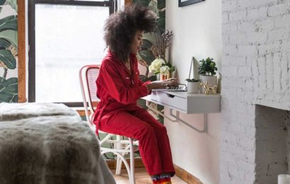 New Yorkers make tiny work-from-home spaces bearable — even beautiful