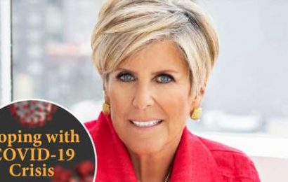 Coping With COVID-19 Crisis: Suze Orman Explains How To Rescue Your Finances, Keep Your Health Insurance & Manage Debt With Zero Income