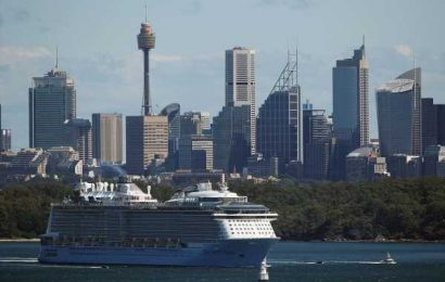 Sydney Police's Huge Marine Operation to Send Cruise Ships Home