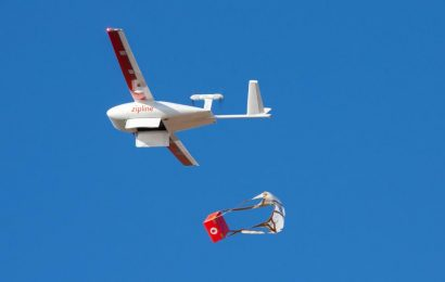 Drones help fight coronavirus by delivering medical supplies