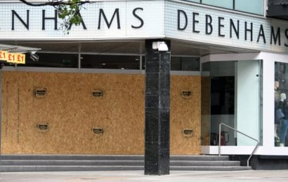 Debenhams appoints administrators and liquidates Irish chain