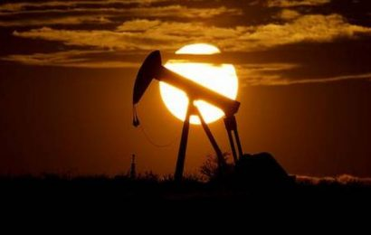 Oil prices climb as storage fills less rapidly than feared