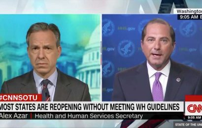 HHS Chief Alex Azar: Defying Social Distancing Guidelines Part Of American 'Freedom'