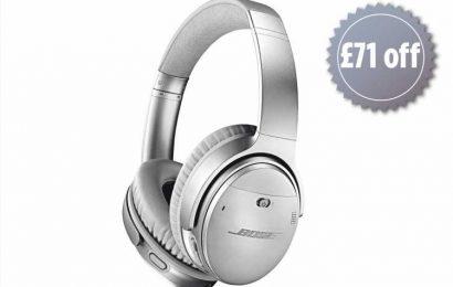 Bose QuietComfort QC35 II noise-cancelling headphones are £71 OFF