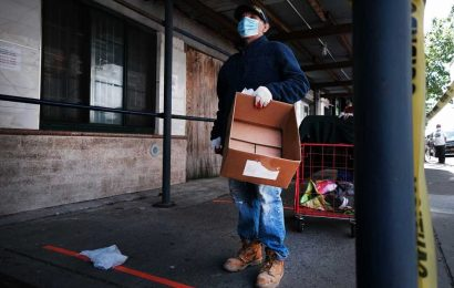 US workers file 2.1 million more jobless claims as crisis total tops 40 million
