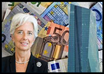 ECB Boosts Support As Eurozone Shrinks At Record Pace