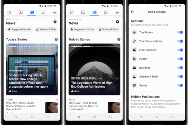 Facebook redesigns app with special 'News' feed that shows zero posts from pals or family