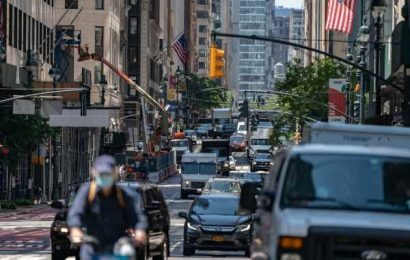 Mass Transit Is Returning but New Yorkers Prefer Cars For Now