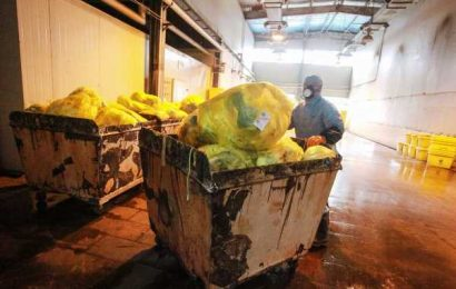 An Epidemic of Contaminated Waste Is Following the Coronavirus
