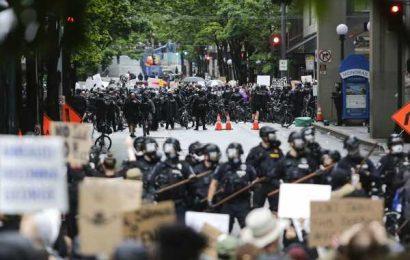 Crowds Spark Virus Concerns; General Apologizes: Protest Wrap