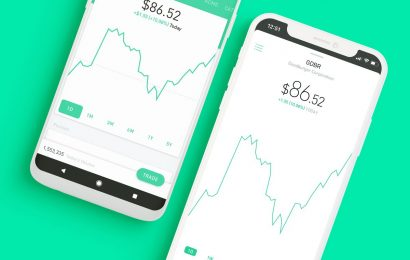 Robinhood Day Traders Step Into Void Left by Dearth of Buybacks
