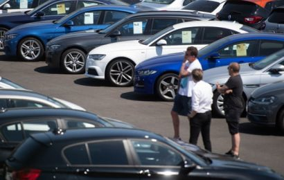 Car dealers in England report strong trade as lockdown eases