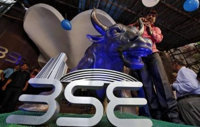 Sensex falls over 200 points in early trade; Nifty slips below 10,100