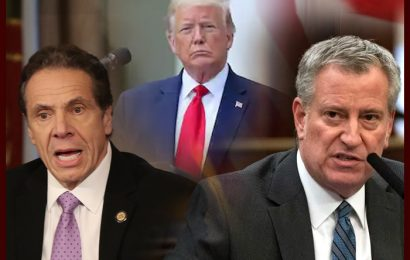 Trump Presses New York Governor, NYC Mayor To Quell Violence