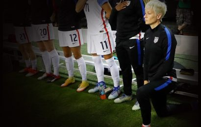 US Soccer Repeals Policy Of Requiring Players To Stand During National Anthem
