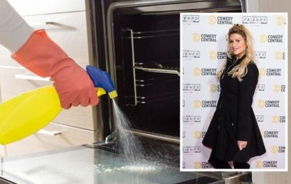 Cleaning: Mrs Hinch shares versatile £1 product to clean greasy oven and dirty trainers