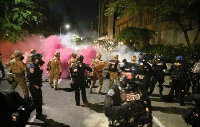 Trump Says Portland Mayor Who Was Tear-Gassed Was 'Pathetic'