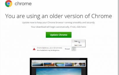 Do NOT click this 'update' on Google Chrome – hackers can hijack your accounts and empty your bank