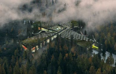 Surrounded by trees and with 1,200 solar panels, this Norwegian building could change how we think about factories