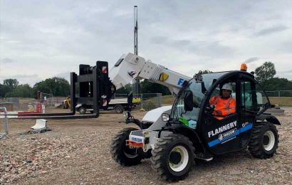 The construction industry draws on green tech with electric and hydrogen fuel cell equipment