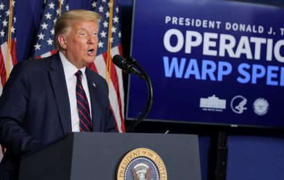 Watch live: Trump holds briefing as Congress debates coronavirus relief bill