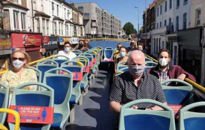 London's Covid-Safe Commute Idea: Open-Air Buses