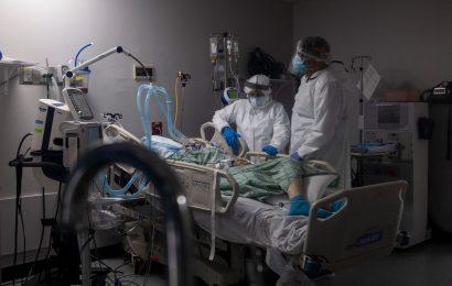 N.J. Is in a 'Dangerous Place'; Hurricane Trouble: Virus Update