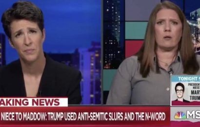 Donald Trump personally used the N-word and anti-Semitic slurs, claims niece Mary Trump, expanding on allegation that they were common in her family