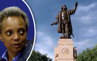 Chicago removes Columbus statue from Grant Park in dead of night: reports