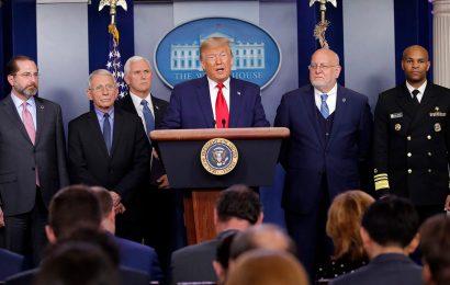 White House blocks CDC boss from testifying on reopening schools amid coronavirus