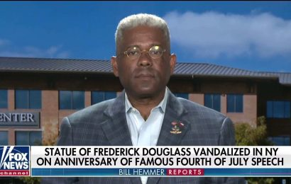 Allen West blasts 'ignorant' protesters who vandalized Frederick Douglass statue